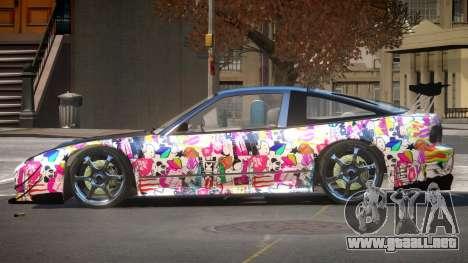 Nissan 240SX D-Style PJ3 para GTA 4