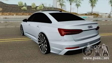 Audi A6 C8 (S-Line) para GTA San Andreas