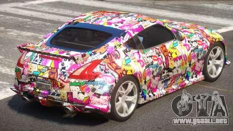 Nissan 370Z SR PJ3 para GTA 4