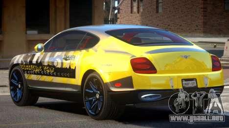 Bentley Continental RT PJ3 para GTA 4