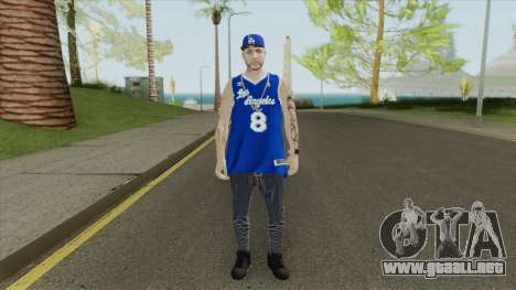 Random Male V1 (Los Angeles Lakers) para GTA San Andreas