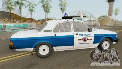 GAZ 31029 Volga (Policía Municipal) para GTA San Andreas