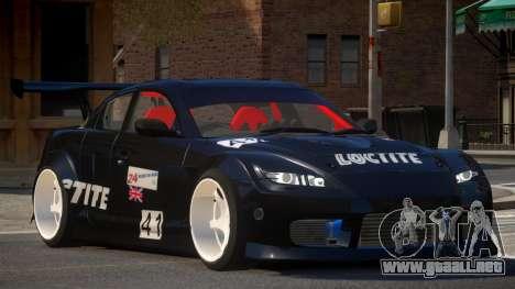 Mazda RX8 S-Tuned PJ4 para GTA 4
