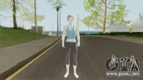 Wii Fit Trainer (Smash Ultimate) para GTA San Andreas
