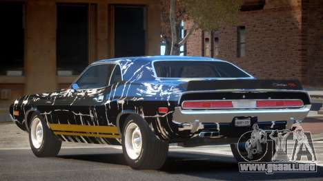 Dodge Challenger RT H-Style PJ6 para GTA 4