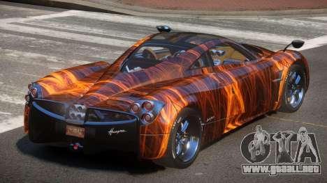 Pagani Huayra GBR PJ1 para GTA 4