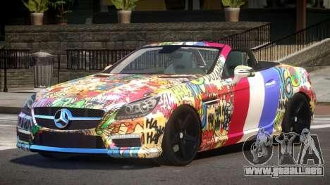 Mercedes Benz SLK DDS PJ5 para GTA 4