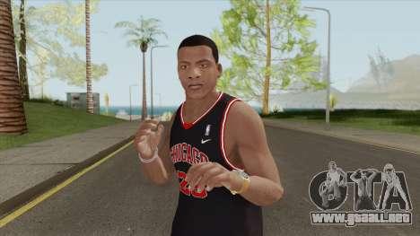 Franklin Clinton (Chicago Bulls) para GTA San Andreas