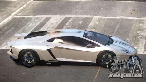 Lamborghini Aventador JRV PJ4 para GTA 4