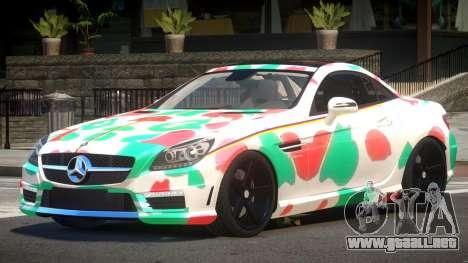 Mercedes SLK55 RG38 PJ5 para GTA 4