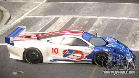McLaren F1 G-Style PJ3 para GTA 4
