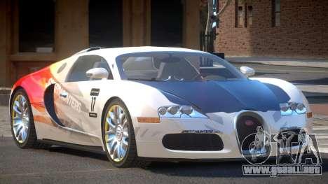 Bugatti Veyron 16.4 S-Tuned PJ6 para GTA 4