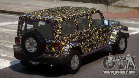 Jeep Wrangler LT PJ4 para GTA 4