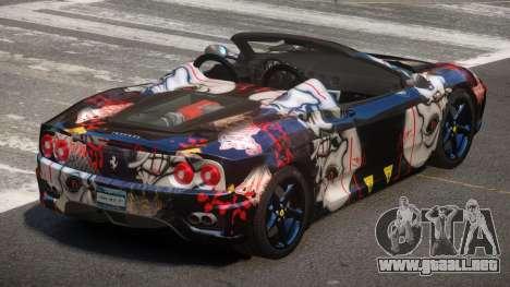 Ferrari 360 SR PJ3 para GTA 4