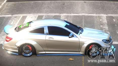 Mercedes Benz C63 AMG V2.1 para GTA 4