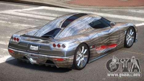 Koenigsegg CCX S-Tuned PJ6 para GTA 4