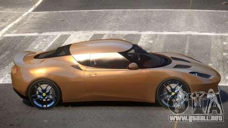 Lotus Evora E-Style para GTA 4