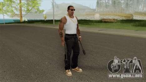 Sawed-Off Shotgun GTA V (Platinum) para GTA San Andreas