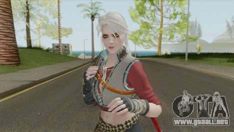 Ciri (The Witcher 3) para GTA San Andreas