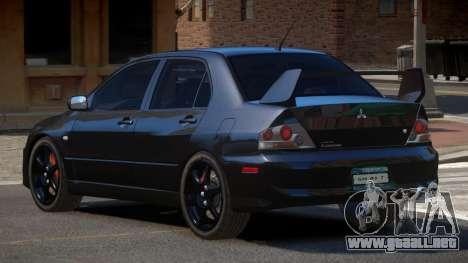 Mitsubishi Lancer SR para GTA 4