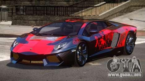 Lamborghini Aventador LP700 RP PJ1 para GTA 4