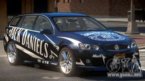 Holden VE Commodore RT PJ6 para GTA 4