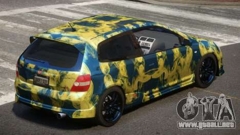 Honda Civic Type R-Tuned PJ4 para GTA 4