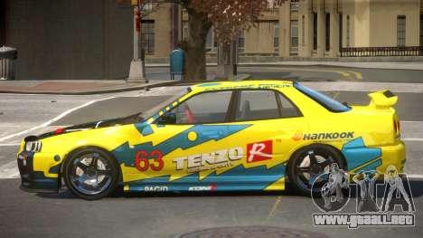 Nissan Skyline R34 D-Style PJ1 para GTA 4