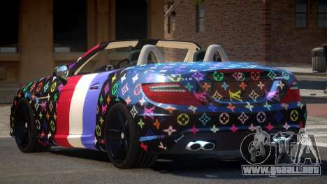 Mercedes Benz SLK DDS PJ3 para GTA 4