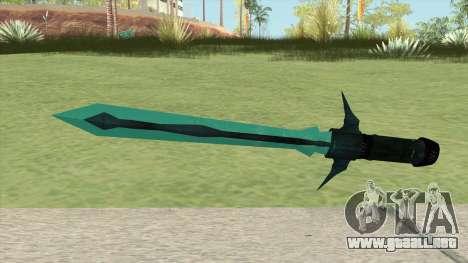 Frozen SCI-FI Sword para GTA San Andreas