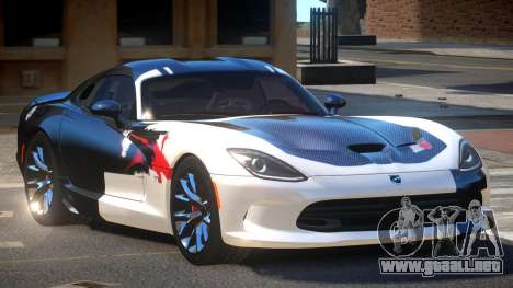 Dodge Viper SRT D-Tuned PJ2 para GTA 4