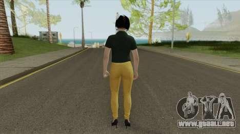 Agatha Barker (Casual) V1 GTA Online para GTA San Andreas