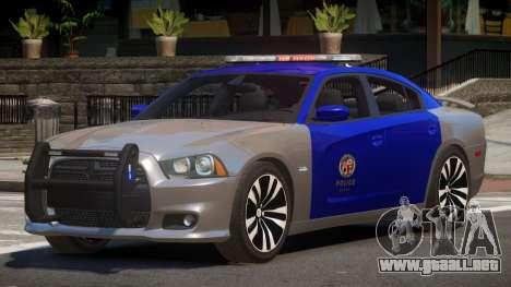 Dodge Charger TDI Police para GTA 4