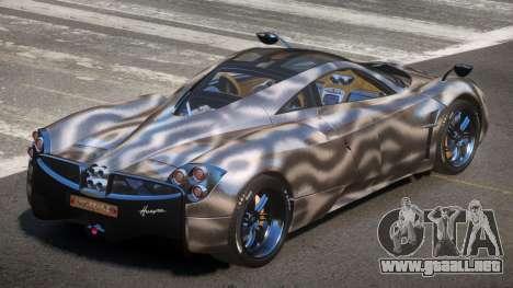 Pagani Huayra GBR PJ4 para GTA 4