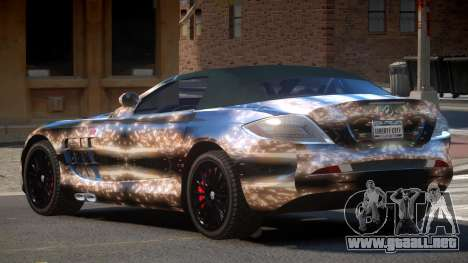 Mercedes-Benz SLR RTF PJ2 para GTA 4