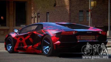 Lamborghini Aventador S-Style PJ1 para GTA 4
