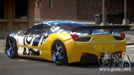 Ferrari 458 SRI-37 PJ4 para GTA 4