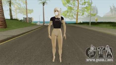 COVID Girl para GTA San Andreas
