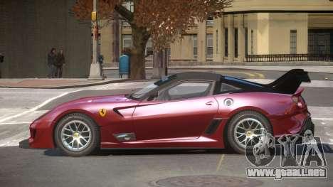 Ferrari 599XX R-Tuning para GTA 4
