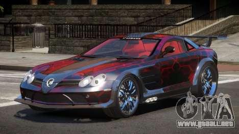 Mercedes Benz SLR H-Style PJ3 para GTA 4