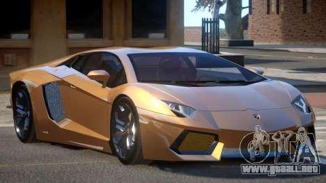 Lamborghini Aventador LP700 RP para GTA 4