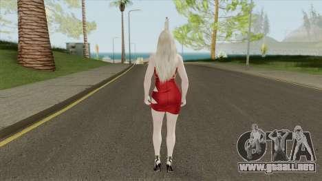 Helena (Red Dress) para GTA San Andreas