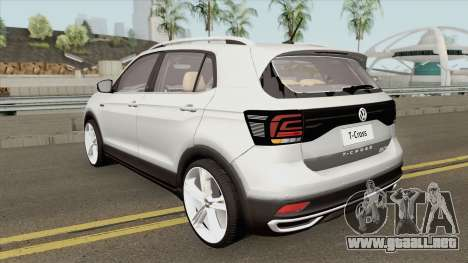 Volkswagen T-Cross 2019 HQ para GTA San Andreas