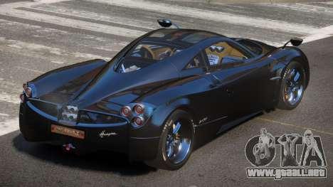 Pagani Huayra GBR para GTA 4