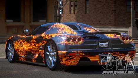 Koenigsegg CCX S-Tuned PJ1 para GTA 4