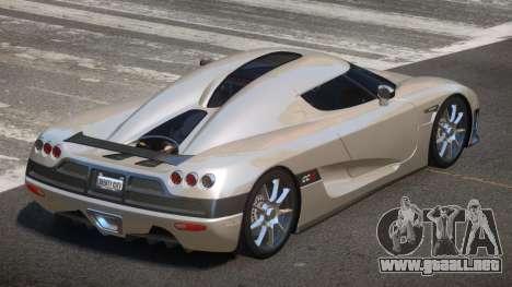 Koenigsegg CCX S-Tuned para GTA 4