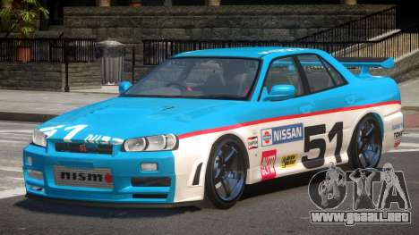 Nissan Skyline R34 D-Style PJ5 para GTA 4