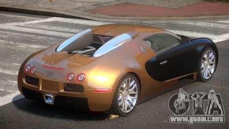 Bugatti Veyron 16.4 RT para GTA 4