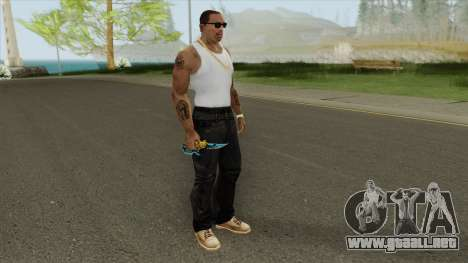 Knife (CFS 2018: Cross Fire) para GTA San Andreas