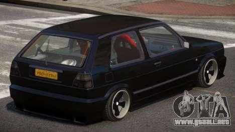 Volkswagen Golf MK2 V1.2 para GTA 4